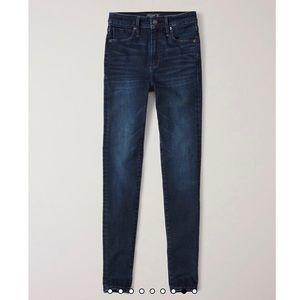 Abercrombie Simone High Rise Super Skinny Jean 27